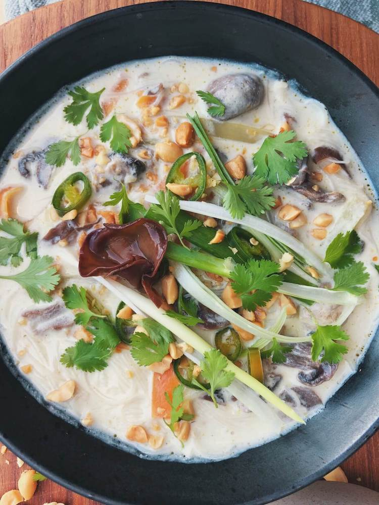 Thai Karry suppe med Judasøre opskrift