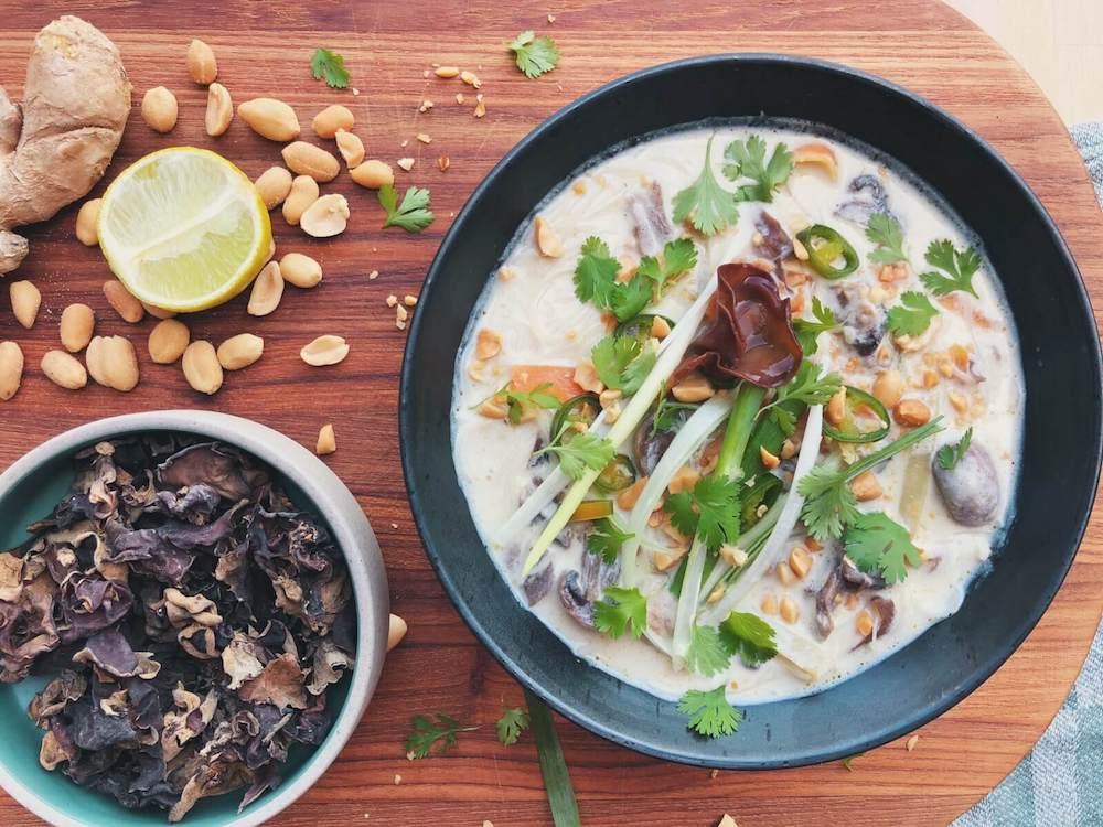 Thai Karry suppe med Judasøre